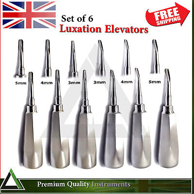 Surgical Tooth Extraction Root Canal Luxation Elevators Oral Surgery Instruments