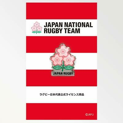 JAPAN Rugby National Team Offiziell Pin Badge Brave Blossoms RWC 2019