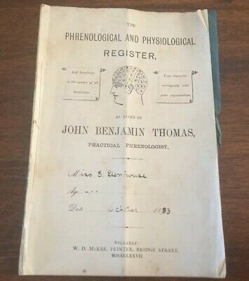 The Phrenological And Physiological Register - 1883