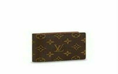 New Louis Vuitton men wallet brown made in France