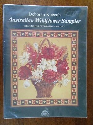 Australian Wildflower Sampler By Deborah Kneen Designs For Decorative Painting