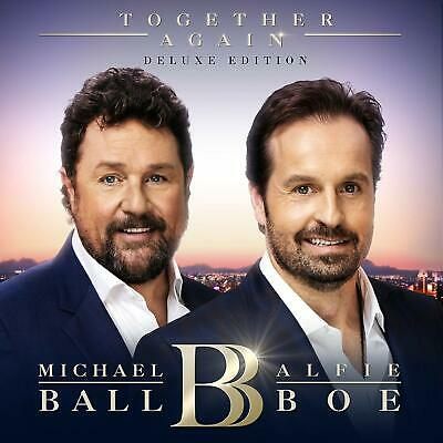 Michael Ball & Alfie Boe - Cd + Dvd Deluxe Edition Together Again- New Unplayed