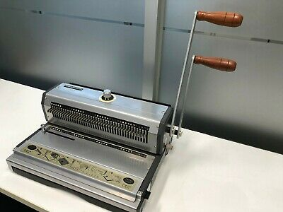 WireMac-31 Model AWM31 Wire Punch & Binding Equipment 3:1 Pitch