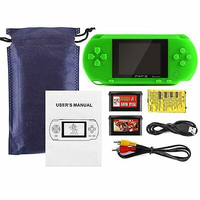 PXP3 Portable Handheld Video Game Console 16 Bit Built-In Games Gift for Kids