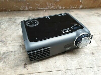 Optoma EW330e DLP Projector 129 Lamp Hours Used Remote Included 227504