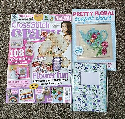 Cross Stitch Crazy Magazine Issue 187 with Kate Knight Notebook March 2014