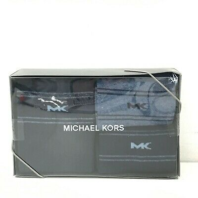 NEW MICHAEL KORS Pack of 3 Crew Socks Men's Accessory Size UK 6.5-11 TH331185