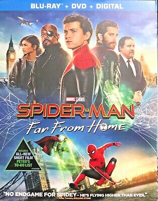 Spider-Man: Far From Home (Blu-ray + DVD + Digital) - Slip Cover - NEW