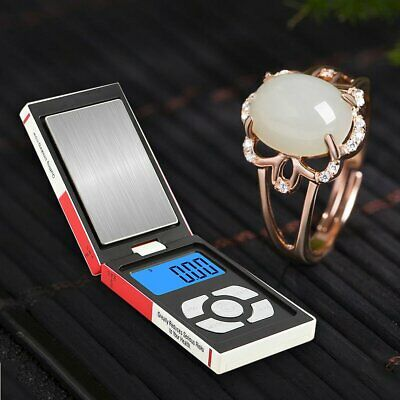 Electronic Pocket Mini Digital Jewellery Weighing Scales Balance Gram 0.01g-500g