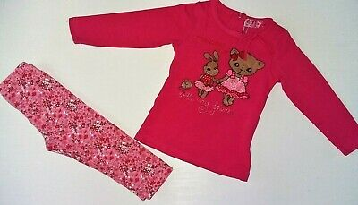 New Baby Girl Infant Outfits Top Leggins Sets Cotton Rich SALE UK Seller