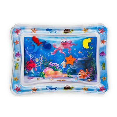 Baby Water Play Mat Inflatable For Infants Toddlers Fun Tummy Time Play Game Toy