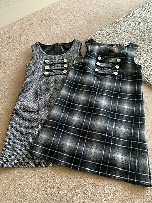 Two Girls Age 13 Pinafore Dresses From NEXT Pre Owned