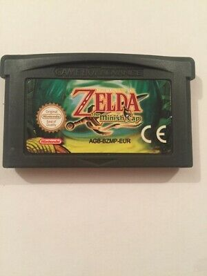 the legend of zelda Minish Cap Gba Gameboy Advance