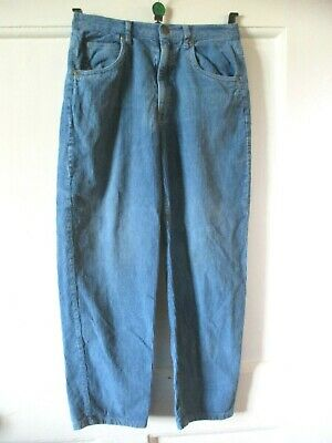 Adams  Boys  Blue Corduroy Cord   Casual  Trousers Age 9  height 134 cm