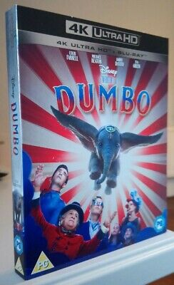 Disney Dumbo (live action) 4K * SLIPCOVER ONLY * Great condition