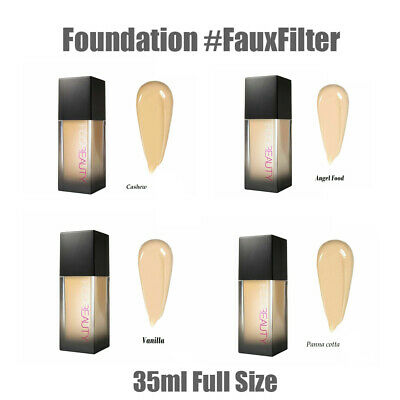 HUDA BEAUTY #FauxFilter Foundation in VARIOUS Shades FULL size 35ml New in Box