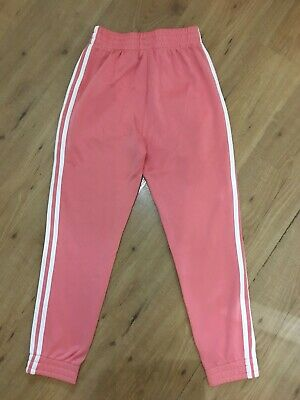 Girls Adidas Track Suit Bottoms/pants, Age 13/14 Years, Great Condition