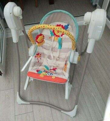 Fisher Price 3 in 1 swing and rocker Baby Swing musical