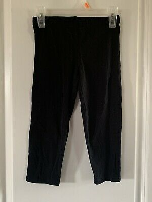 Girls Black Old Navy Leggings Capri Length Size 8 Medium