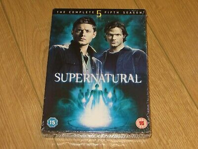 Supernatural - Complete Season 5 / Series Five - Region 2 DVD - New + Sealed