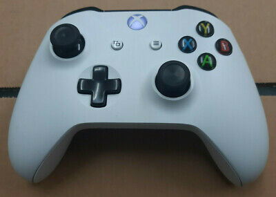 Official Microsoft Xbox One S 1708 White Wireless Controller