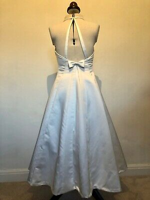 50s style wedding dress costume stage bride fancy dress  hen do short 10 Theatre