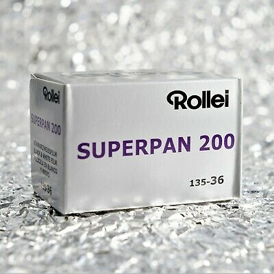 *NEW* Rollei Superpan 200 35mm film