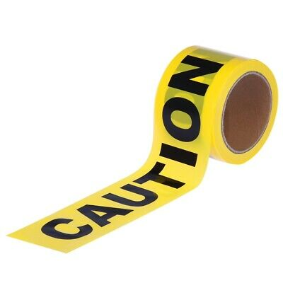 UEETEK 100M Safety Tape Hazard Tape Caution Sign for Construction