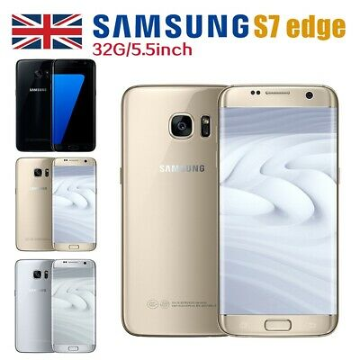 New Unlocked SAMSUNG Galaxy S7 Edge 32GB G935F Smartphone Sim Free 3 Colours