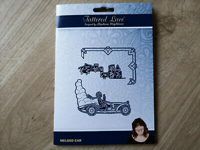Tattered Lace Art Deco Die Set - Melded Car + FREE GIFT