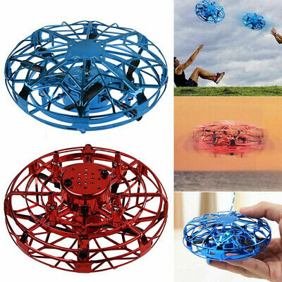 Anti-Collision Hand UFO Ball Flying Aircraft RC Toy Mini Infraed Induction Drone