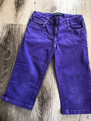 Purple Mini Boden Capri Jeans. Age 10 Below Knee Trousers. Girls