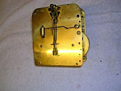 Clock  Parts  ,  H. A. C . Brass  Movement  , G.w.o.