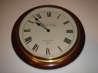 19th Century Style, Vintage, Dial Clock, Knight & Gibbins of London.