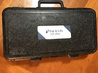 Inficon TEK-Mate Refrigerant Leak Detector With Case and User's Manual