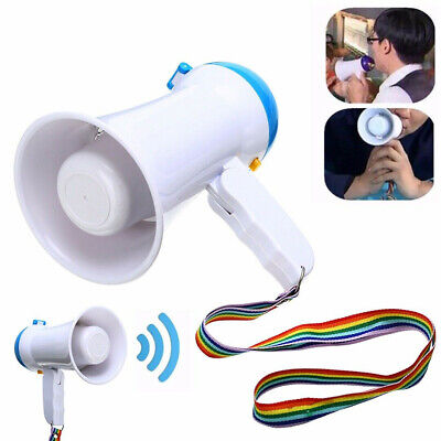 5W Foldable Mini Megaphone Microphone Bullhorn Speaker Wedding Supply Amplifier