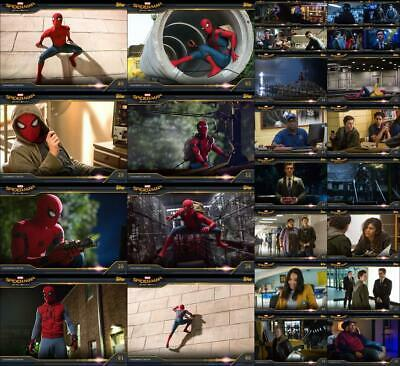 Topps Marvel Collect Spider-Man: Homecoming Box 2019 [28 CARD MOVIE STILLS SET]