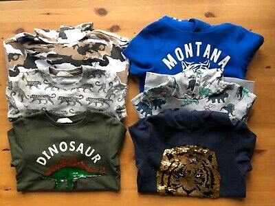 Boys Bundle of Hoodies/Jumpers/Sweatshirts/Tops H&M and Next Age 6-7 Years