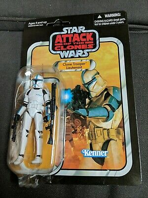 Star Wars The Vintage Collection Clone Trooper Lieutenant VC109. New sealed.