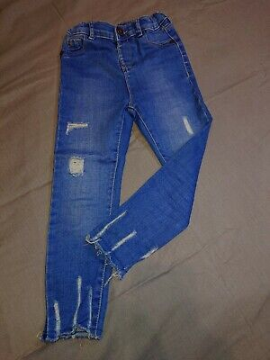 Girls River Island Blue Jeans 5-Years Perfect Condition Look....