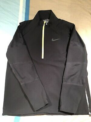 Nike Golf Hyperadapt Storm-Fit Jacket, Size Large Black, Excellent Condition