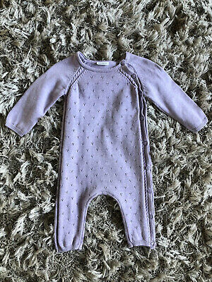 Baby Girls Next Daytime Bodysuit Outfit  6-9 Months Beautiful Knit Jumper