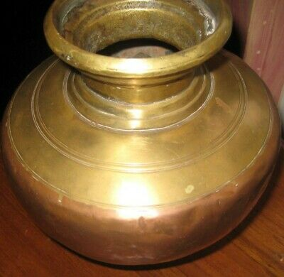 Antique Indian  Moghul Copper Brass Water Pot