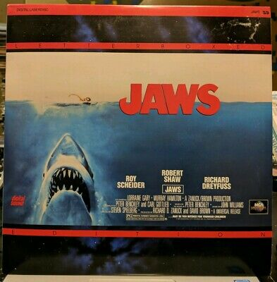 Jaws Laserdisc 1991 Letterboxed Edition