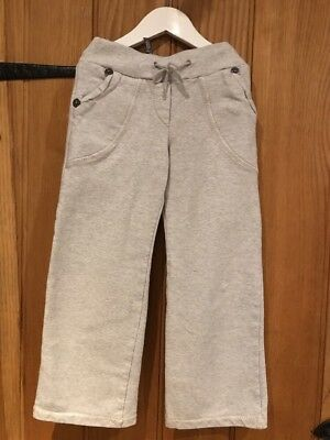 DKNY Lovely Girls Grey Jogging Bottoms Age 6yrs Very Comfortable