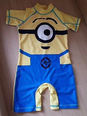 Next Minions Sunsafe Suit Size 2-3 Years