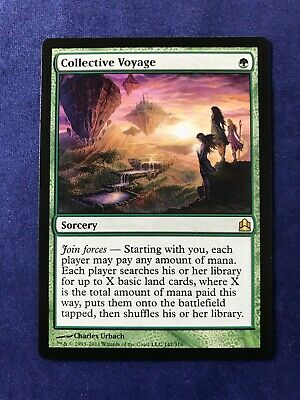 MTG Magic the Gathering Collective Voyage Commander 2011 x1