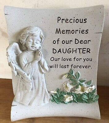 latex mould for making This Lovely Daughter Memorial