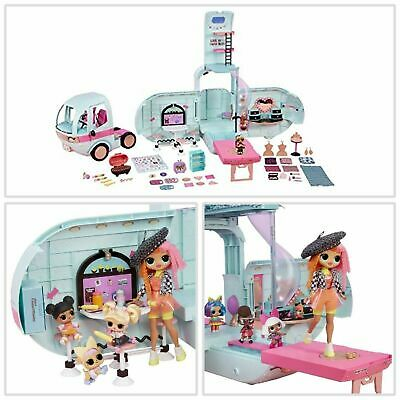 LOL Surprise 2-in-1 Glamper Fashion Camper with 55+ Surprises Doll Kids Toy Gift