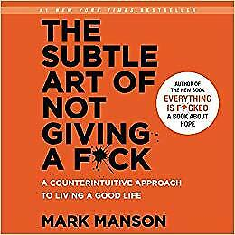The Subtle Art of Not Giving a F*ck: AudiobookAudio Book CD Mark Manson